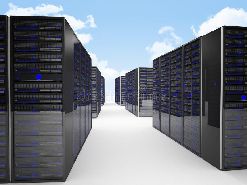 κεντρικός υπολογιστής διανυσματική απεικόνιση