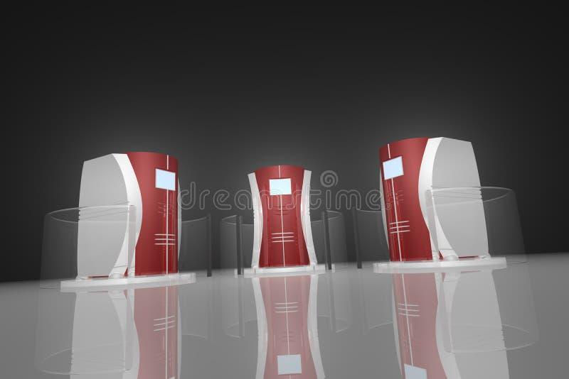 κεντρικός υπολογιστής 7 & απεικόνιση αποθεμάτων