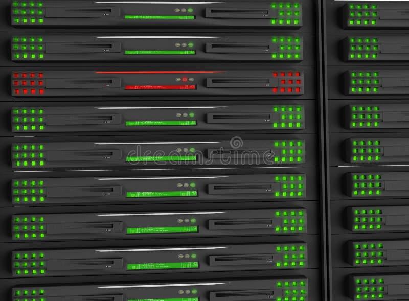 κεντρικός υπολογιστής &rh διανυσματική απεικόνιση