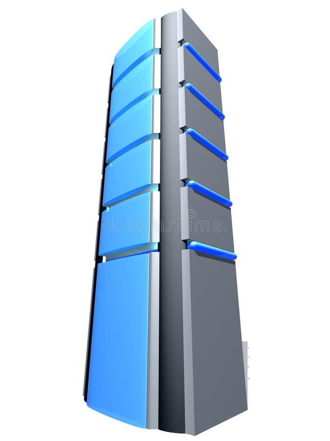 κεντρικός υπολογιστής tover απεικόνιση αποθεμάτων