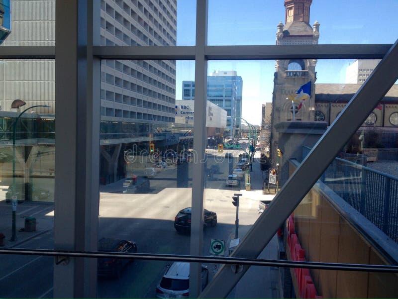 Κεντρικός Winnipeg της πόλης στοκ φωτογραφίες