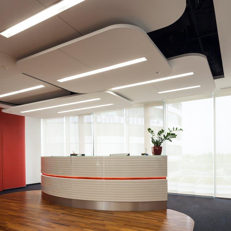 Κεντρικό γραφείο στο επιχειρησιακό κτήριο στοκ φωτογραφία με δικαίωμα ελεύθερης χρήσης