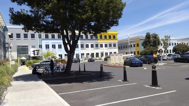κεντρικό κτίριο Facebook στοκ εικόνα με δικαίωμα ελεύθερης χρήσης