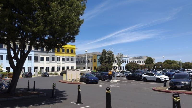 κεντρικό κτίριο Facebook στοκ φωτογραφίες