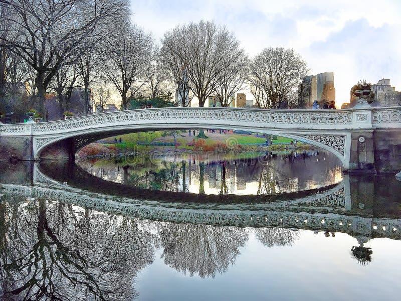 κεντρικό πάρκο γεφυρών τόξω στοκ φωτογραφίες με δικαίωμα ελεύθερης χρήσης