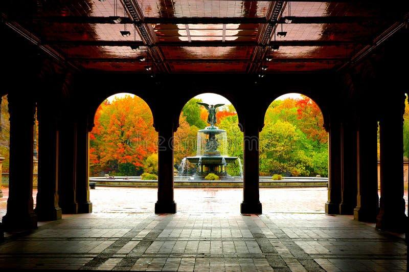 κεντρικό πάρκο της Νέας Υόρ&ka στοκ φωτογραφία