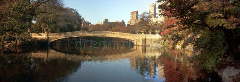 κεντρικό πάρκο φθινοπώρο&upsilon στοκ φωτογραφίες