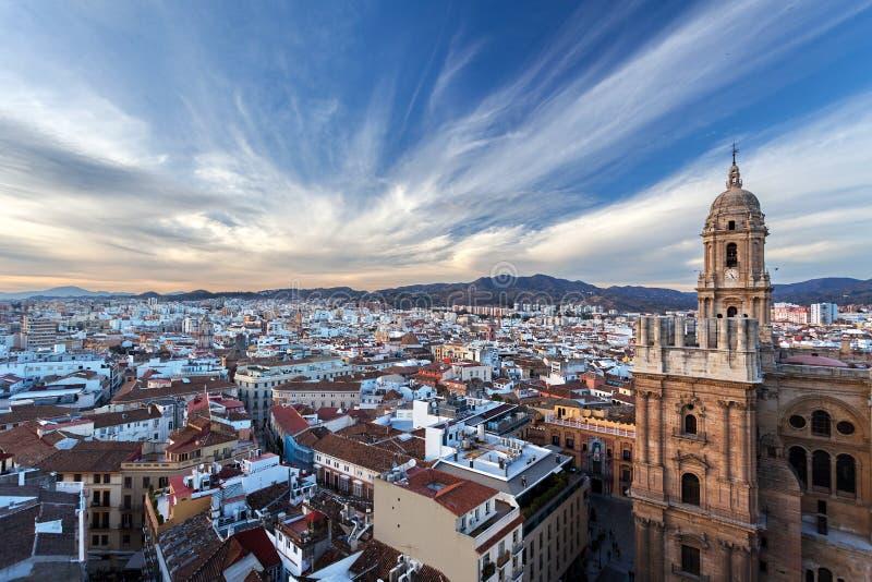 Κεντρομόλος επιτάχυνση - Μάλαγα, Ανδαλουσία, Ισπανία στοκ εικόνες