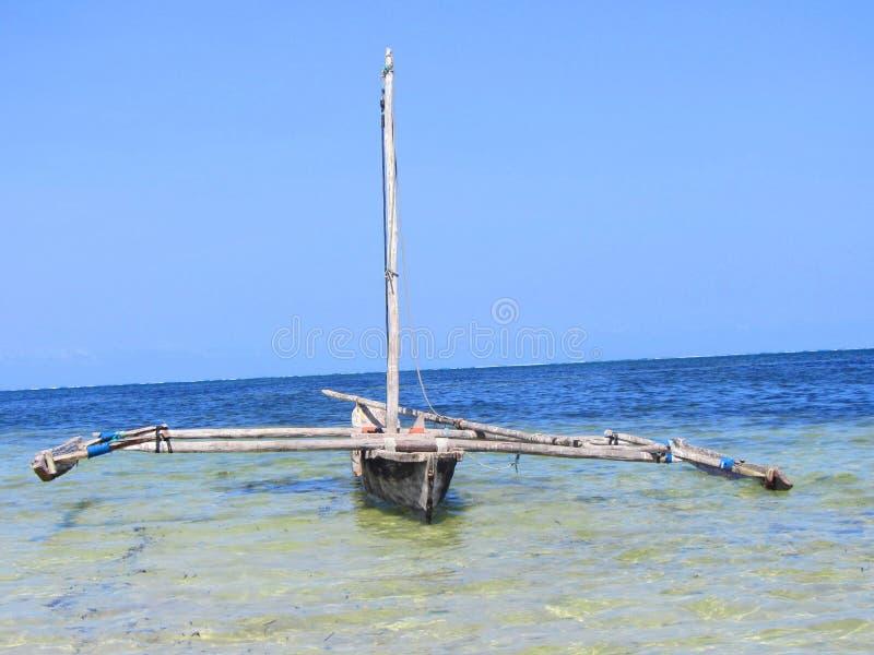 Κενυατική βάρκα στοκ φωτογραφίες
