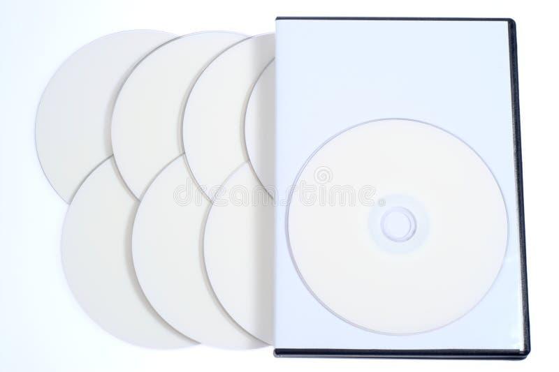 κενός δίσκος Cd υπόθεσης dvd ελεύθερη απεικόνιση δικαιώματος
