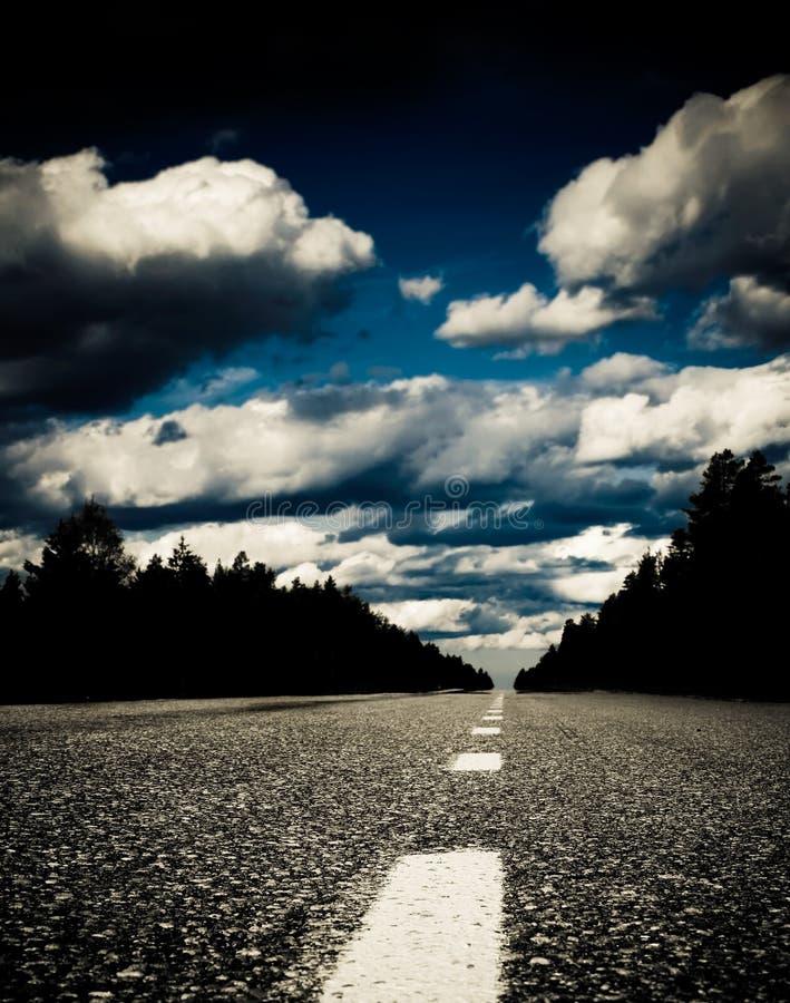 κενός δρόμος στοκ εικόνα με δικαίωμα ελεύθερης χρήσης