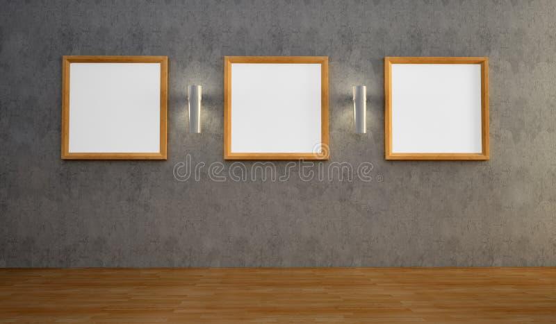 κενός εσωτερικός τοίχο&sigma ελεύθερη απεικόνιση δικαιώματος