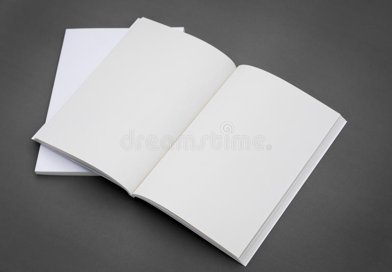 Κενός κατάλογος, φυλλάδιο, περιοδικά, βιβλίο στοκ φωτογραφίες με δικαίωμα ελεύθερης χρήσης