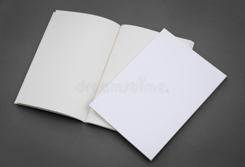 Κενός κατάλογος, φυλλάδιο, περιοδικά, βιβλίο στοκ εικόνες με δικαίωμα ελεύθερης χρήσης