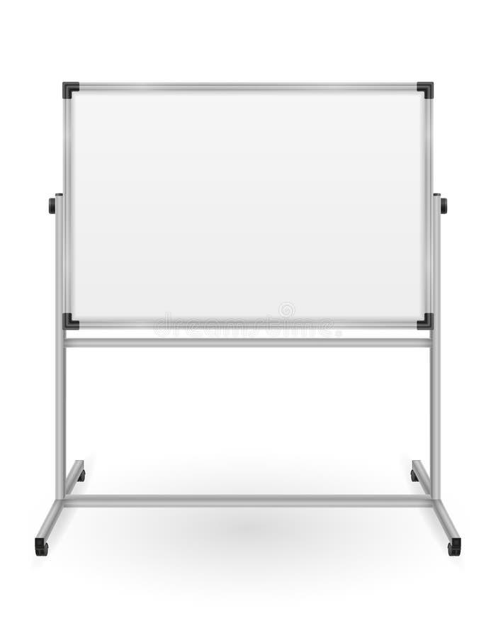 Κενός μαγνητικός δείκτης whiteboard για τη διανυσματική απεικόνιση αποθεμάτων κατάρτισης και εκπαίδευσης παρουσιάσεων διανυσματική απεικόνιση