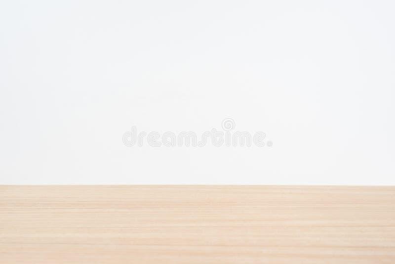 Κενός ξύλινος επιτραπέζιος κενός ξύλινος πίνακας για το πρότυπο στοκ εικόνες με δικαίωμα ελεύθερης χρήσης