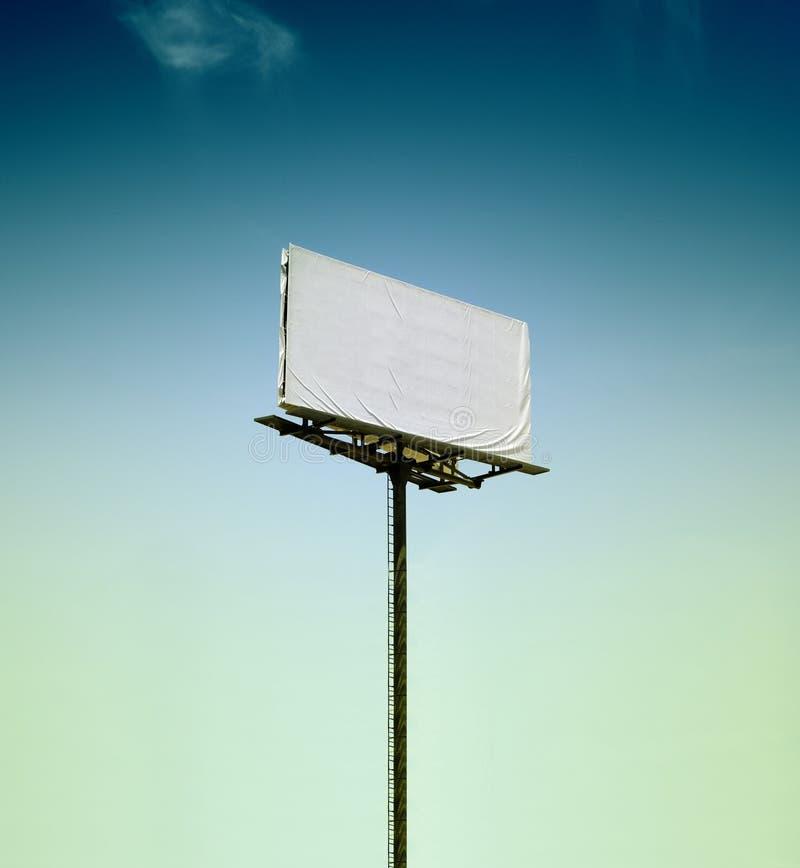 Κενός πίνακας διαφημίσεων στοκ εικόνα