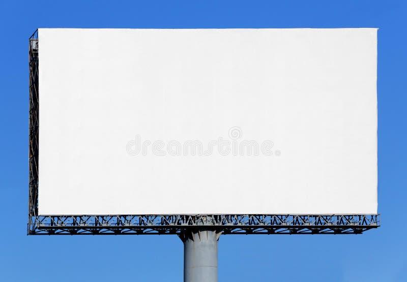 Κενός πίνακας διαφημίσεων στοκ εικόνες