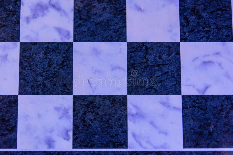 Κενός πίνακας σκακιού για το υπόβαθρο Τοπ όψη στοκ εικόνες