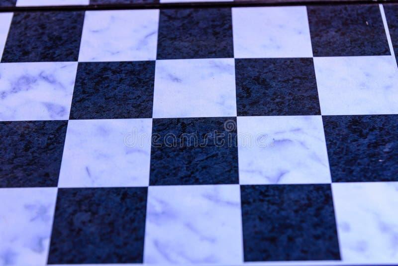 Κενός πίνακας σκακιού για το υπόβαθρο στοκ εικόνα