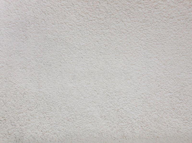 Κενός συμπαγής τοίχος, άσπρο τσιμέντο χρώματος για το αφηρημένο υπόβαθρο σύστασης Ξεπερασμένη ανοικτό γκρι δομή grunge beton στοκ εικόνες