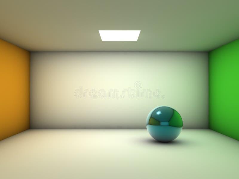 κενό απομονωμένο δωμάτιο &sigm απεικόνιση αποθεμάτων