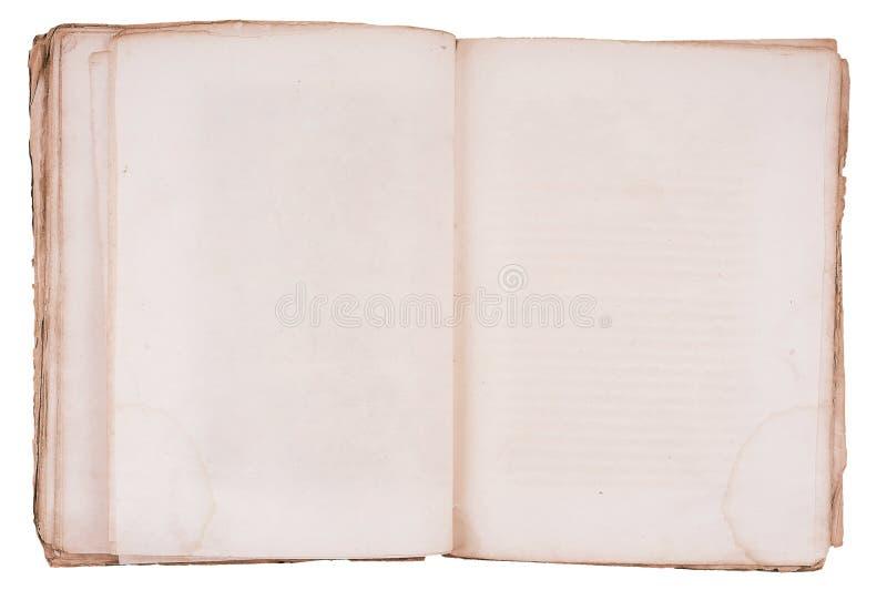 κενό βιβλίο και οι δύο πα&lam στοκ εικόνες