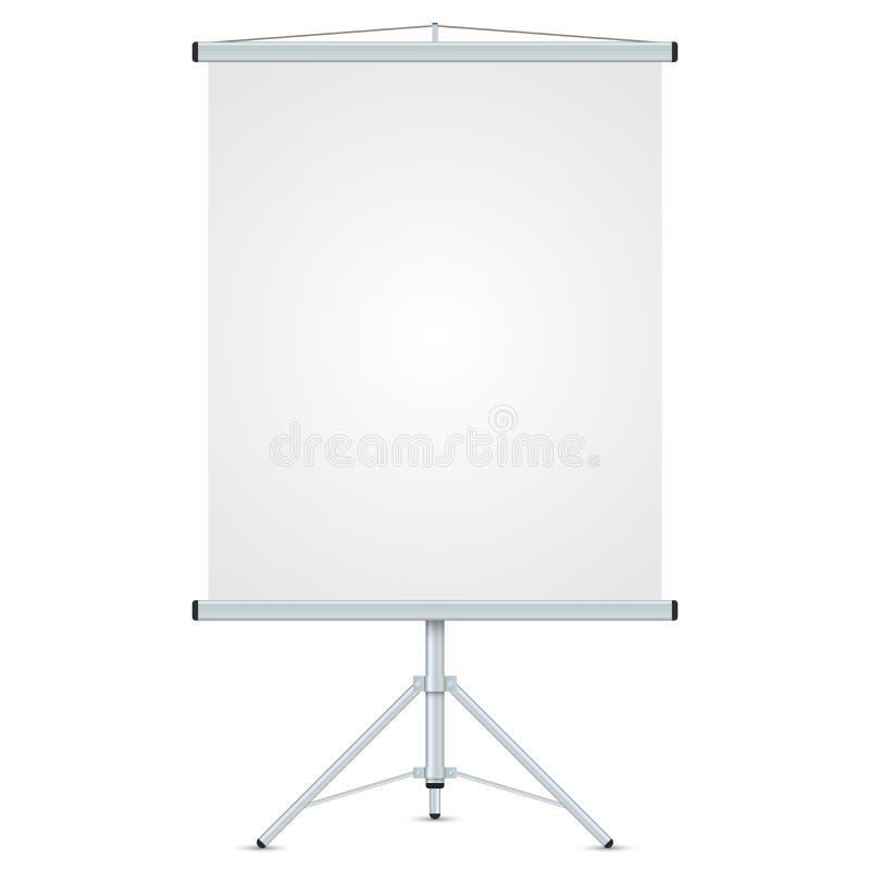 Κενό γραφείων whiteboard ελεύθερη απεικόνιση δικαιώματος