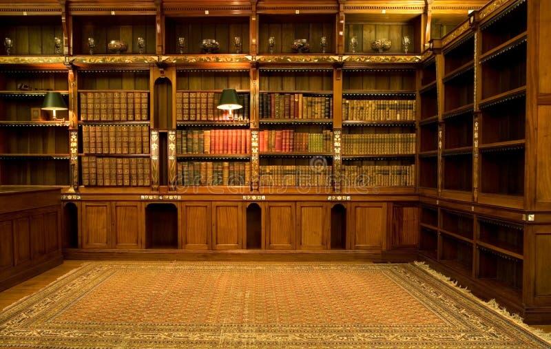 κενό δωμάτιο ανάγνωσης στοκ εικόνα