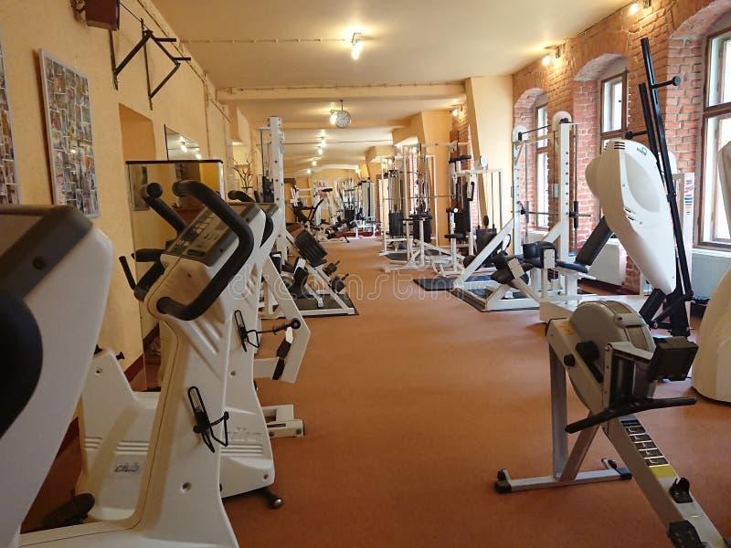 Κενό δωμάτιο γυμναστικής στοκ φωτογραφίες με δικαίωμα ελεύθερης χρήσης