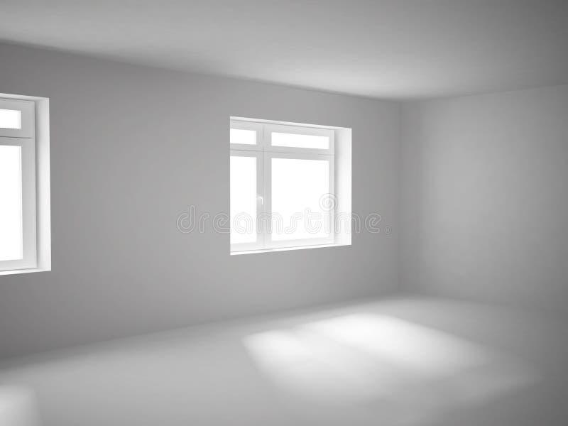 κενό δωμάτιο διανυσματική απεικόνιση