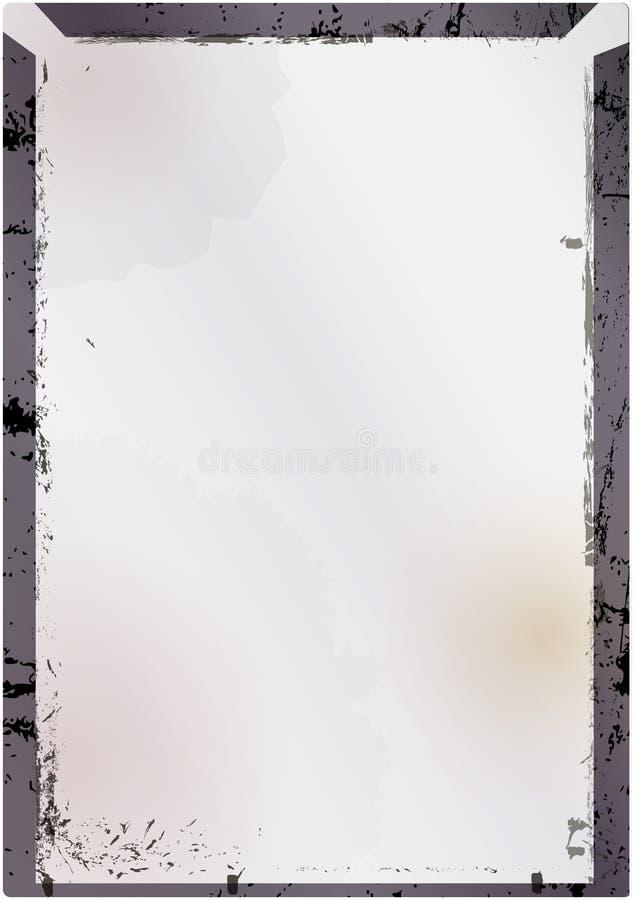 Κενό εκλεκτής ποιότητας γυαλί μεγάλου σχήματος αρνητικό ή εικόνα fram, grunge ύφος απεικόνιση αποθεμάτων