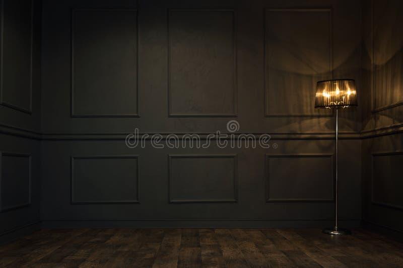 Κενό εκλεκτής ποιότητας δωμάτιο στοκ φωτογραφίες με δικαίωμα ελεύθερης χρήσης