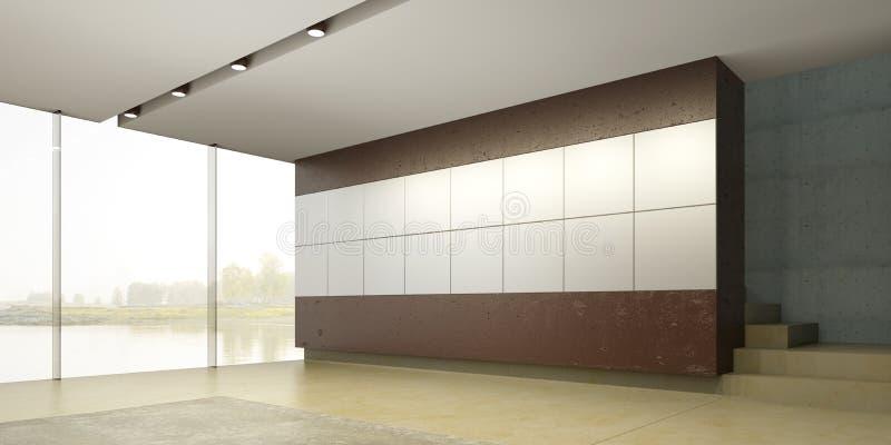 κενό εσωτερικό δωμάτιο στοκ φωτογραφία με δικαίωμα ελεύθερης χρήσης