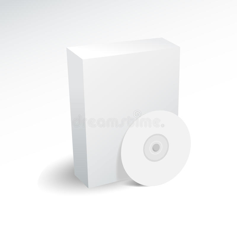 κενό κιβώτιο dvd απεικόνιση αποθεμάτων
