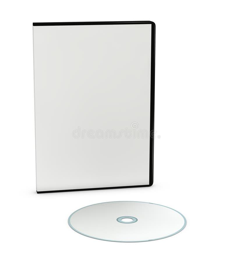 κενό κόσμημα Cd υπόθεσης dvd απεικόνιση αποθεμάτων