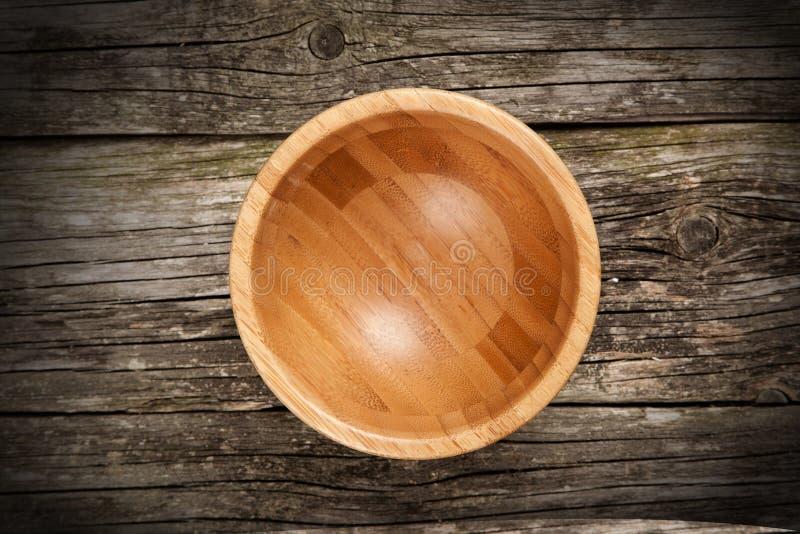 Κενό κύπελλο μπαμπού στοκ φωτογραφία με δικαίωμα ελεύθερης χρήσης