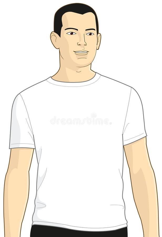 κενό λευκό πουκάμισων τ α& ελεύθερη απεικόνιση δικαιώματος