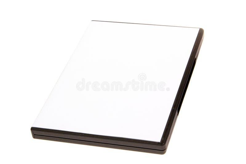κενό λευκό Cd υπόθεσης ανασκόπησης dvd στοκ φωτογραφίες με δικαίωμα ελεύθερης χρήσης