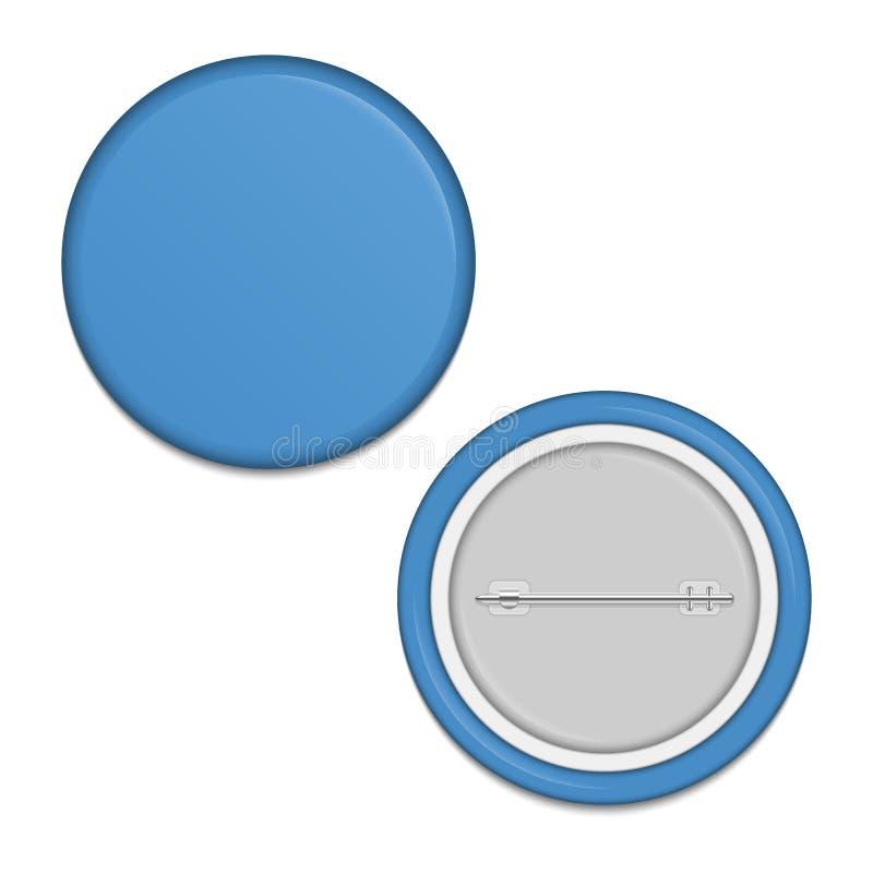 Κενό μπλε διακριτικό ελεύθερη απεικόνιση δικαιώματος