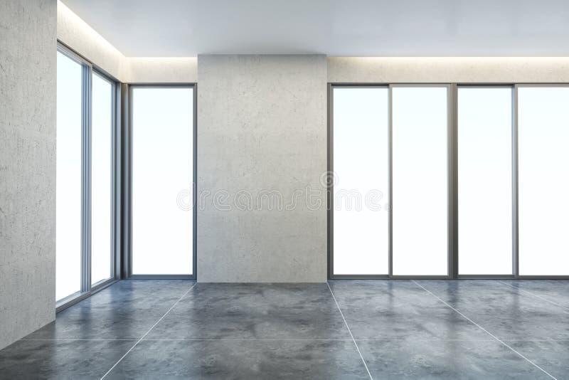 κενό νέο δωμάτιο γραφείων στοκ φωτογραφία με δικαίωμα ελεύθερης χρήσης