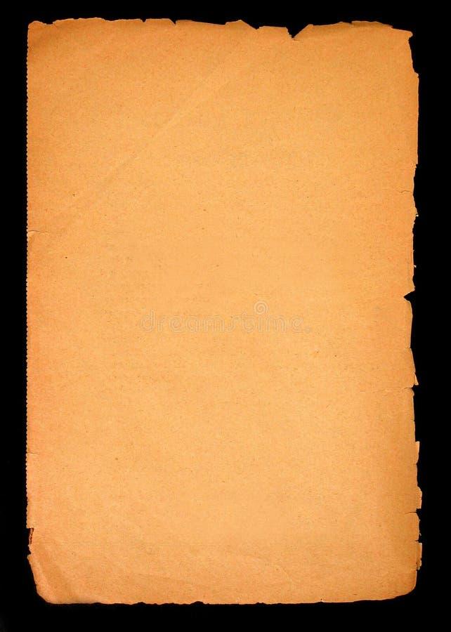 κενό παλαιό έγγραφο σελίδων Στοκ φωτογραφίες με δικαίωμα ελεύθερης χρήσης