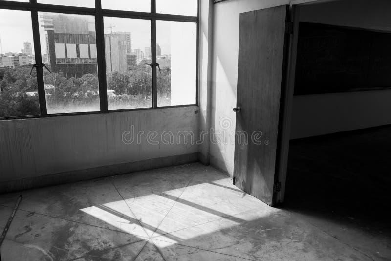 κενό παλαιό δωμάτιο στοκ φωτογραφία