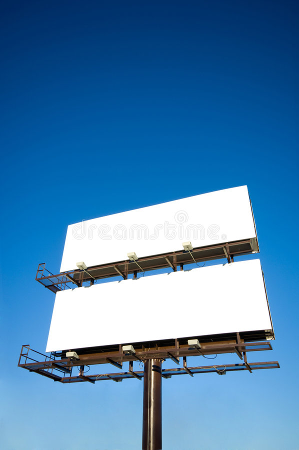 κενό πινάκων διαφημίσεων στοκ φωτογραφίες με δικαίωμα ελεύθερης χρήσης
