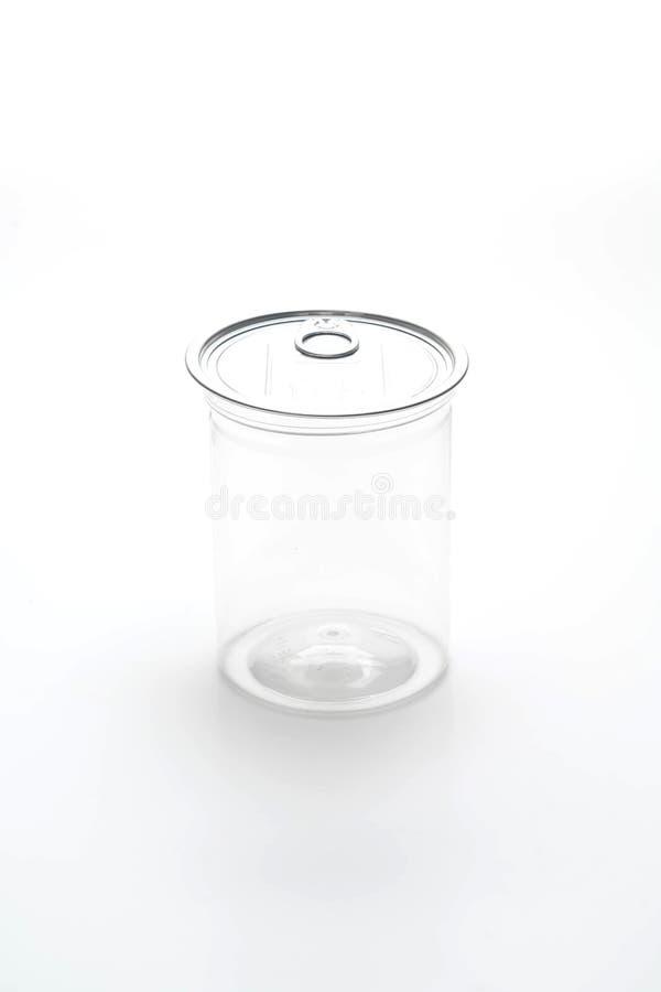 κενό πλαστικό βάζο στοκ εικόνα με δικαίωμα ελεύθερης χρήσης