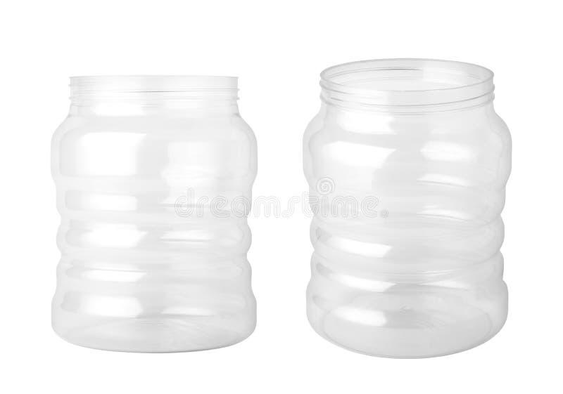 κενό πλαστικό βάζο στοκ φωτογραφία με δικαίωμα ελεύθερης χρήσης
