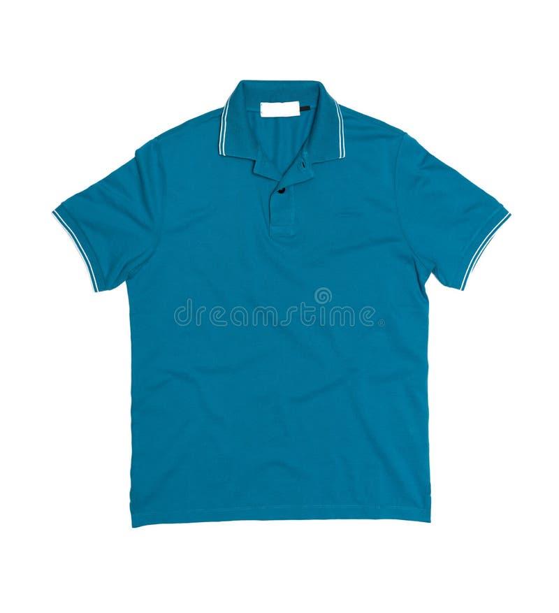 Κενό πουκάμισο πόλο (μπροστινή πλευρά) στοκ εικόνες με δικαίωμα ελεύθερης χρήσης