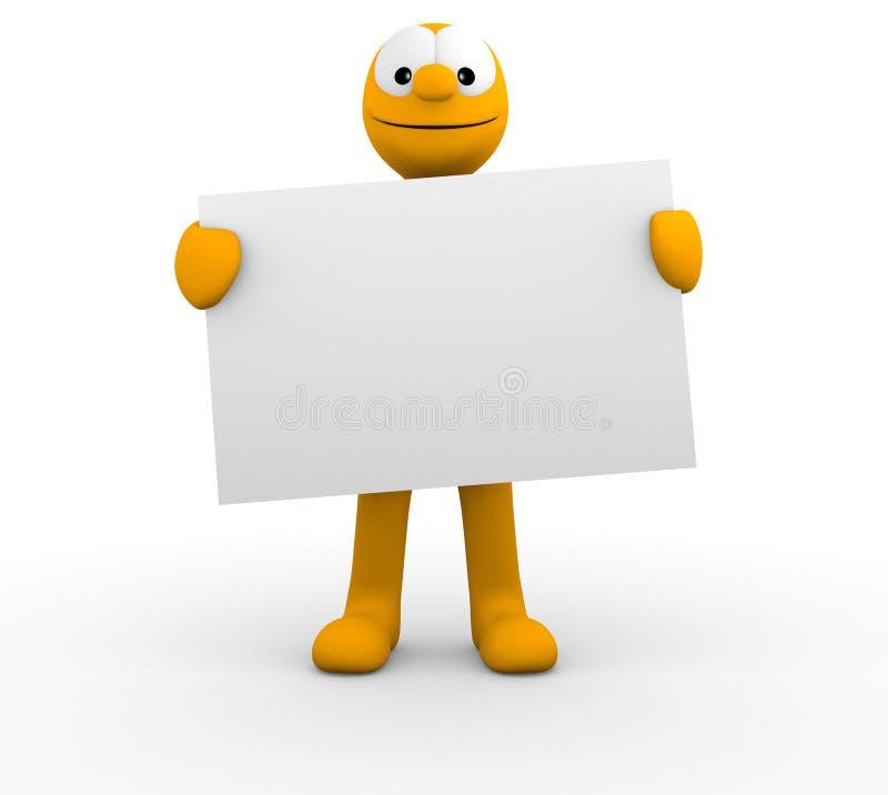 κενό σας χαρτονιών ελεύθερη απεικόνιση δικαιώματος