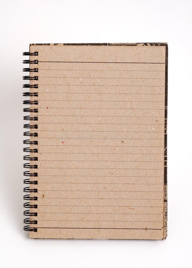 κενό σημειωματάριο στοκ εικόνες