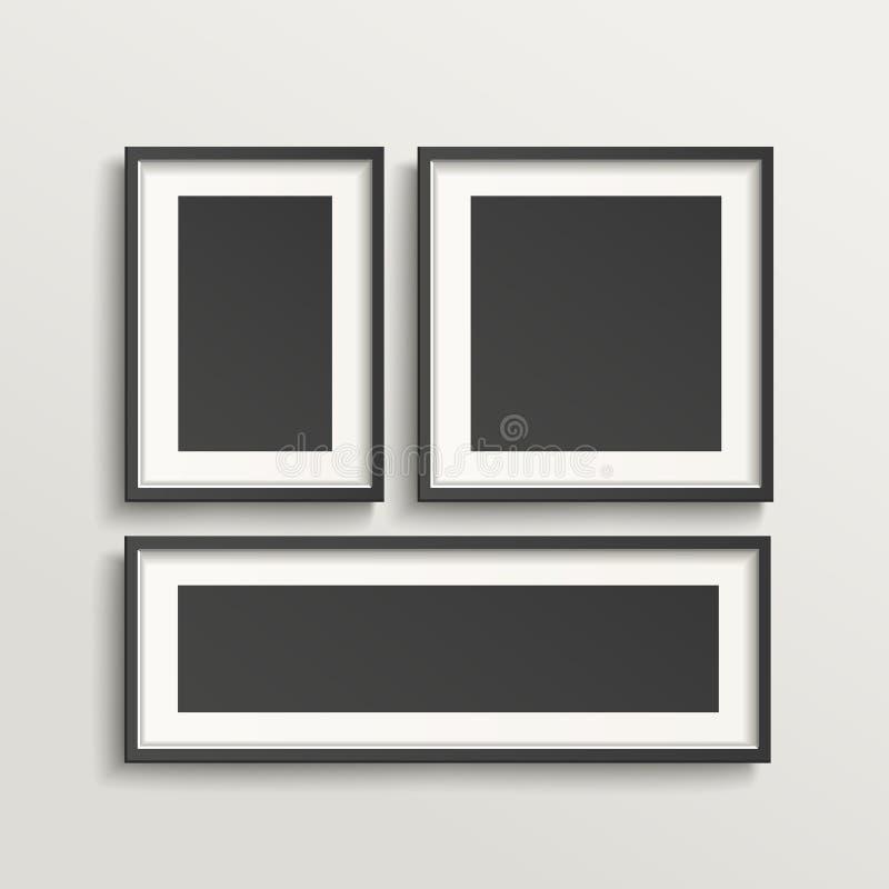 Κενό σύνολο προτύπων πλαισίων εικόνων απεικόνιση αποθεμάτων